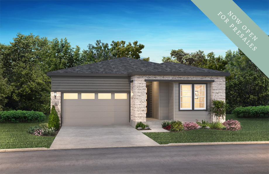 Heritage Exterior of Shea Homes The Reserve Collection | The Canyons New Home Community in Castle Pines, CO