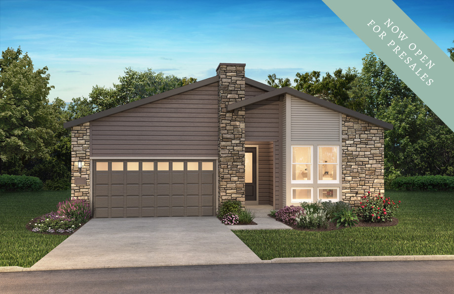 Legacy Exterior of Shea Homes The Reserve Collection | The Canyons New Home Community in Castle Pines, CO