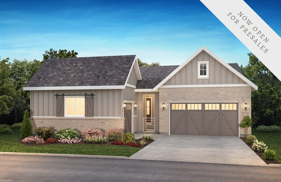 Shea Homes Retreat Collection Preserve Elevation Rendering at The Canyons in Castle Pines