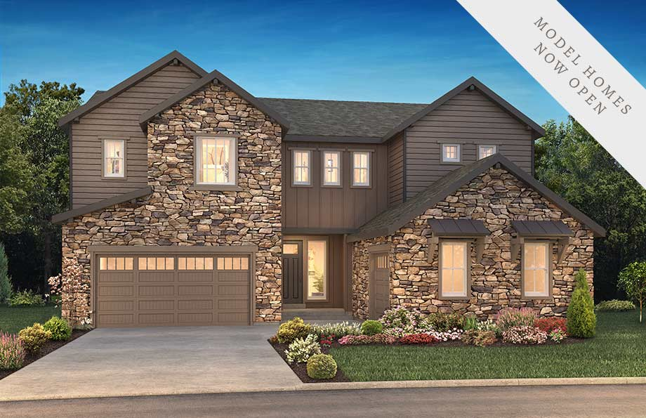 Hyde Exterior of Shea Homes Luxe Collection at The Canyons, Castle Pines