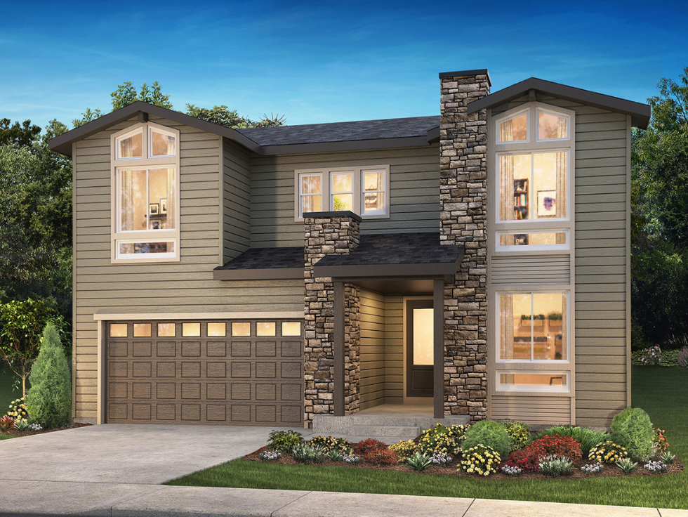 The Gallery Collection by Shea Homes at The Canyons in Castle Pines