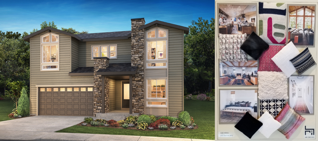 Emerson plan, Gallery Collection by Shea Homes