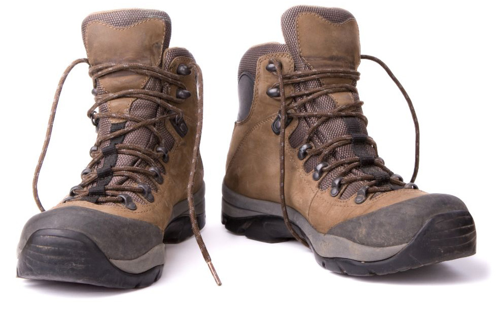 Hiking boots | More than 15 miles of hiking trails at The Canyons | A new home community in Castle Pines, CO