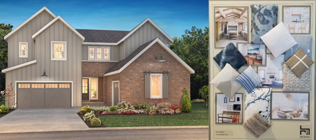 Hyde plan, Luxe Collection by Shea Homes