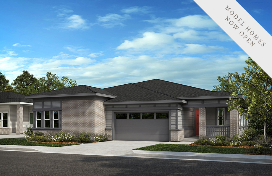 KB Home Inspire Collection Elevation One Home Rendering | The Canyons New Home Community in Castle Pines, CO