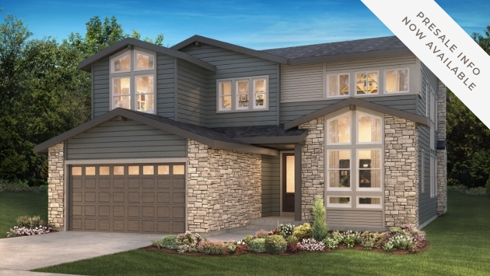 Shea Homes The Gallery Collection | The Canyons New Home Community in Castle Pines, CO