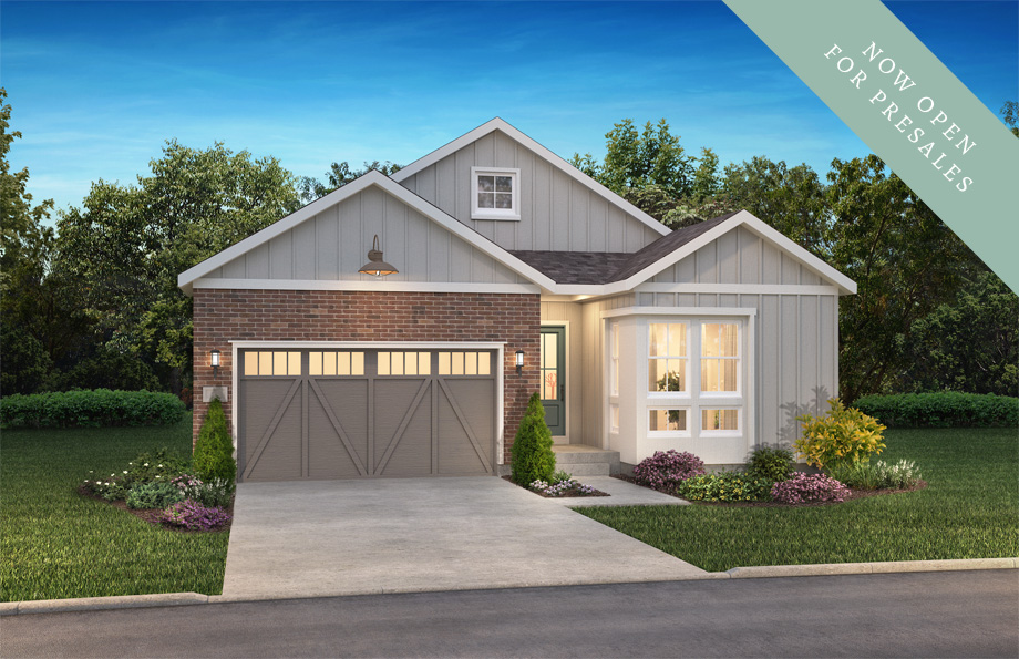Traditions Exterior of Shea Homes The Reserve Collection | The Canyons New Home Community in Castle Pines, CO