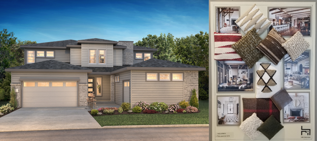 Stonehaven plan, Luxe Collection by Shea Homes
